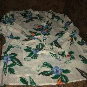 Old Navy, Womans, linen top, large